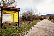 Oasi Pantano di Pignola, Basilicata, Italia, 27/02/2016<br /> L'ingresso dell'oasi del WWF Pantano di Pignola, a pochi chilometri da Potenza, in Basilicata.<br /> <br /> Oasis Pantano Lake in Pignola, Basilicata, Italy, 27/02/2016<br /> The entrance of Pantano Lake in Pignola WWF Oasis, few kilometers far from Potenza, in Basilicata.
