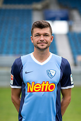 07.07.2015, Rewirpower Stadion, Bochum, GER, 2. FBL, VfL Bochum, Fototermin, im Bild Jan Simunek (Bochum) // during the official Team and Portrait Photoshoot of German 2nd Bundesliga Club VfL Bochum at the Rewirpower Stadion in Bochum, Germany on 2015/07/07. EXPA Pictures &copy; 2015, PhotoCredit: EXPA/ Eibner-Pressefoto/ Hommes<br /> <br /> *****ATTENTION - OUT of GER*****