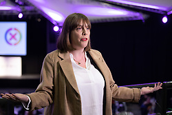 © Licensed to London News Pictures. 13/12/2019. Birmingham, West Midlands, UK. Birmingham Election Results. Pictured, Jess Phillips who kept her Yardley seat but prompted questions regarding the leadership of the Labour Party.  Photo credit: Dave Warren / LNP