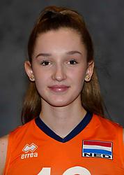 24-12-2019 NED: Photoshoot selection of Orange Youth Girls, Arnhem<br /> Orange Youth Girls 2019 - 2020 / Marlijn Stelwagen #16