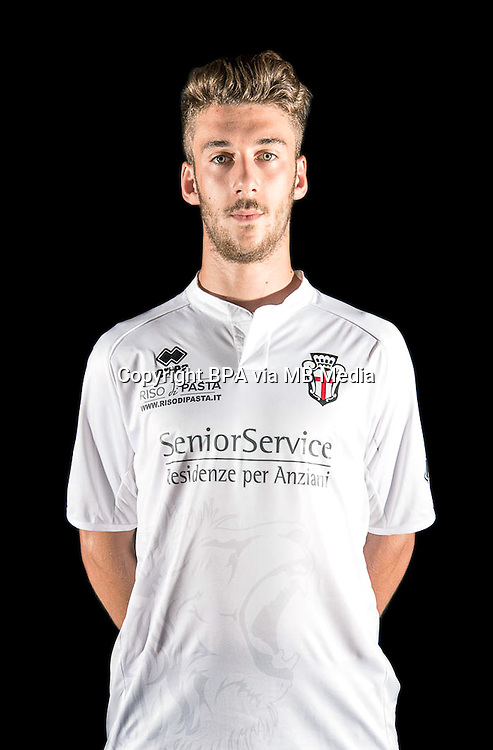 Italian League Serie B -2014-2015 / <br /> ( FC Pro Vercelli ) -<br /> Mattia Bani