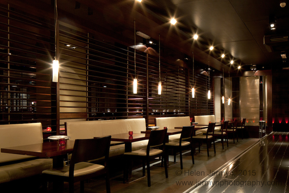 Mintleaf bar & restaurant interior