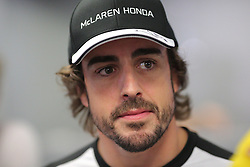 23.07.2015, Hungaroring, Budapest, HUN, FIA, Formel 1, Grand Prix von Ungarn, Vorberichte, im Bild Fernando Alonso (McLaren Honda) // during the preperation of the Hungarian Formula One Grand Prix at the Hungaroring in Budapest, Hungary on 2015/07/23. EXPA Pictures © 2015, PhotoCredit: EXPA/ Eibner-Pressefoto/ Bermel<br /> <br /> *****ATTENTION - OUT of GER*****