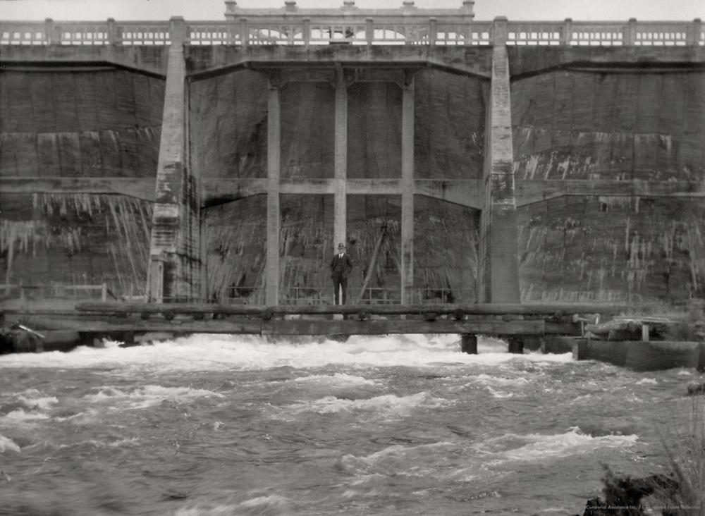 Dam at Great Lake, Miena, Tasmania, Australia, 1930