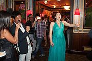 OPERA SINGING, Beijing Film launch. Danieli Hotel St. Mark's Sq. . Venezia.  31 August  2013