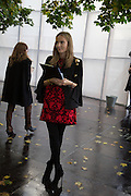charlotte fournet from mcqueen, The VIP preview of Frieze. Regent's Park. London. 16 October 2013