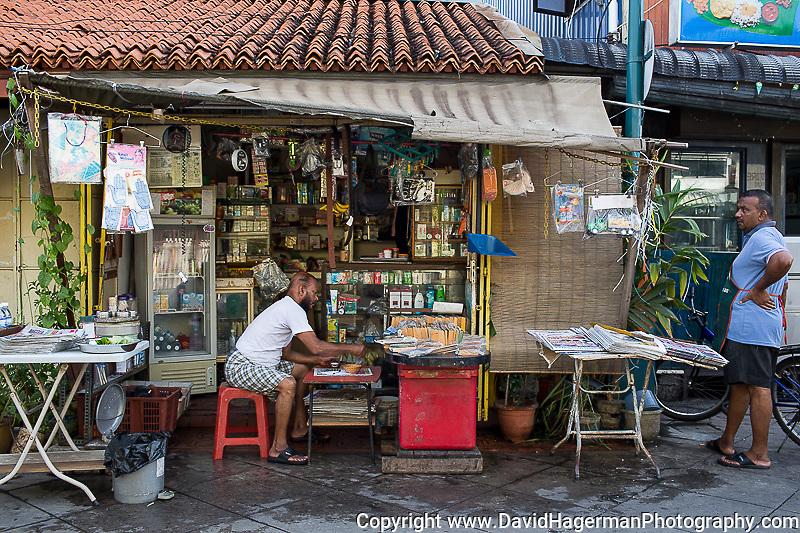 Newstand / otto kedai Lorong Pasar between Queen and King St