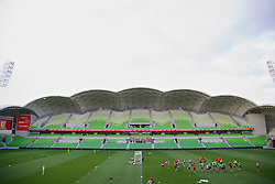 MELBOURNE, AUSTRALIA - Monday, July 22, 2013: Liverpool players during a training session at Aami Park ahead of their preseason friendly against Melbourne Victory. (Pic by David Rawcliffe/Propaganda)