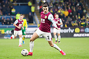 Burnley defender Matthew Lowton (2) in action during the The FA Cup match between Burnley and Norwich City at Turf Moor, Burnley, England on 25 January 2020.