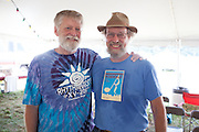 Chuck Wentworth and Bill Molloy.  Chuck does the bookings and more and Bill is brain and braun at the Catskill stage.