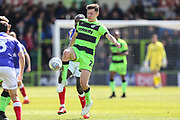 Forest Green Rovers Paul Digby(20) during the EFL Sky Bet League 2 match between Forest Green Rovers and Exeter City at the New Lawn, Forest Green, United Kingdom on 4 May 2019.