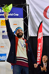 World Cup SBX Medal Ceremony at the 2016 IPC Snowboard Europa Cup Finals and World Cup