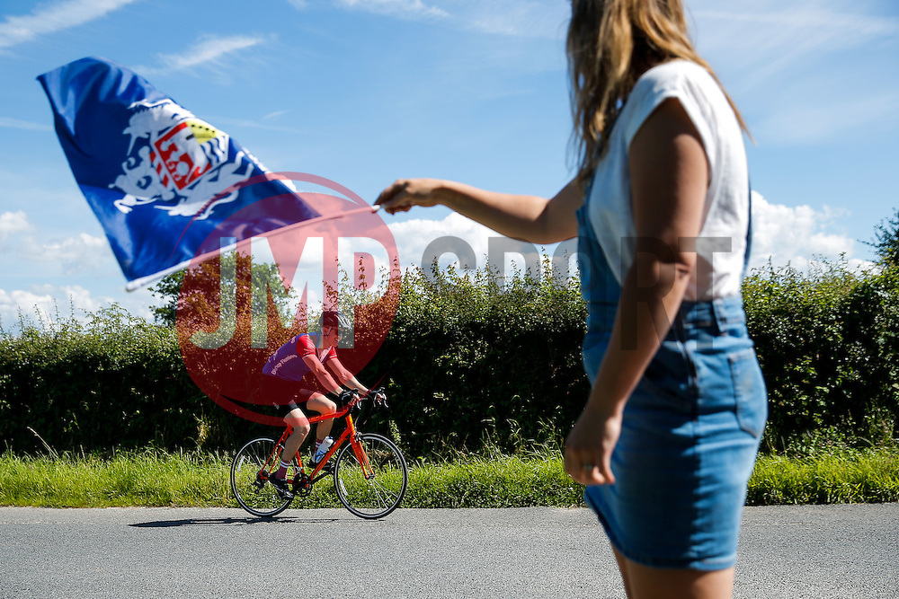 Cyclists take part in Break The Cycle, a 111 mile charity bike ride organised by the Bristol Rugby and Gloucester Rugby Community Foundations - Mandatory byline: Rogan Thomson/JMP - 03/07/2016 - CYCLING - Ashton Gate Stadium - Bristol, England - Break The Cycle Challenge 2016.