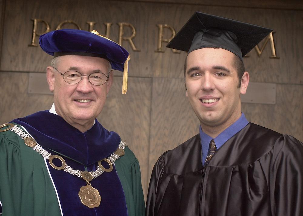 15415Undergraduate Commencement 2002: David Wilhelm speaking