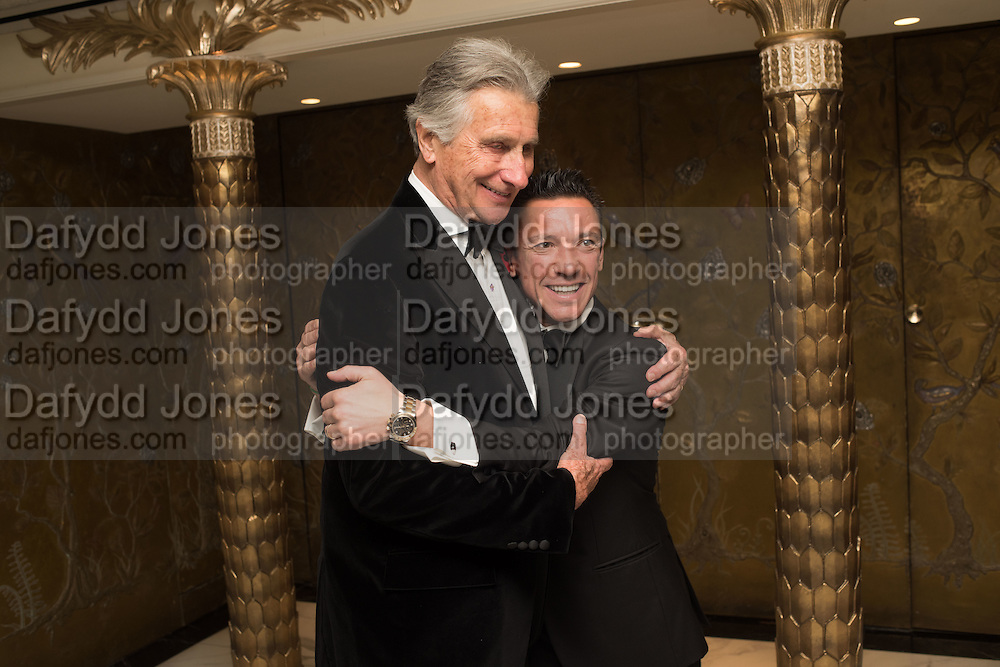 ARNAUD BAMBERGER; FRANKIE DETTORI, Cartier 25th Racing Awards, the Dorchester. Park Lane, London. 10 November 2015