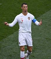 FUSSBALL WM 2018  Vorrunde  Gruppe B --- Portugal - Marokko           20.06.2018 Cristiano Ronaldo (Portugal)