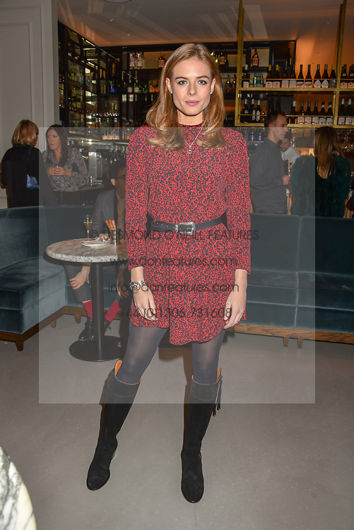 21 November 2019 - Rosie Tapner at the launch of Sam's Riverside Restaurant, 1 Crisp Walk, Hammersmith hosted by owner Sam Harrison, Edward Taylor and Jack Brooksbank.<br /> <br /> Photo by Dominic O'Neill/Desmond O'Neill Features Ltd.  +44(0)1306 731608  www.donfeatures.com