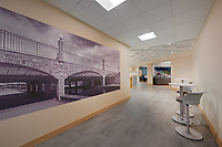 Interior image of Frederick MD Office Building Conference Center by Jeffrey Sauers of Commercial Photographics, Architectural Photo Artistry in Washington DC, Virginia to Florida and PA to New England
