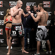 UFC on Fuel TV 5:  Official Weigh In