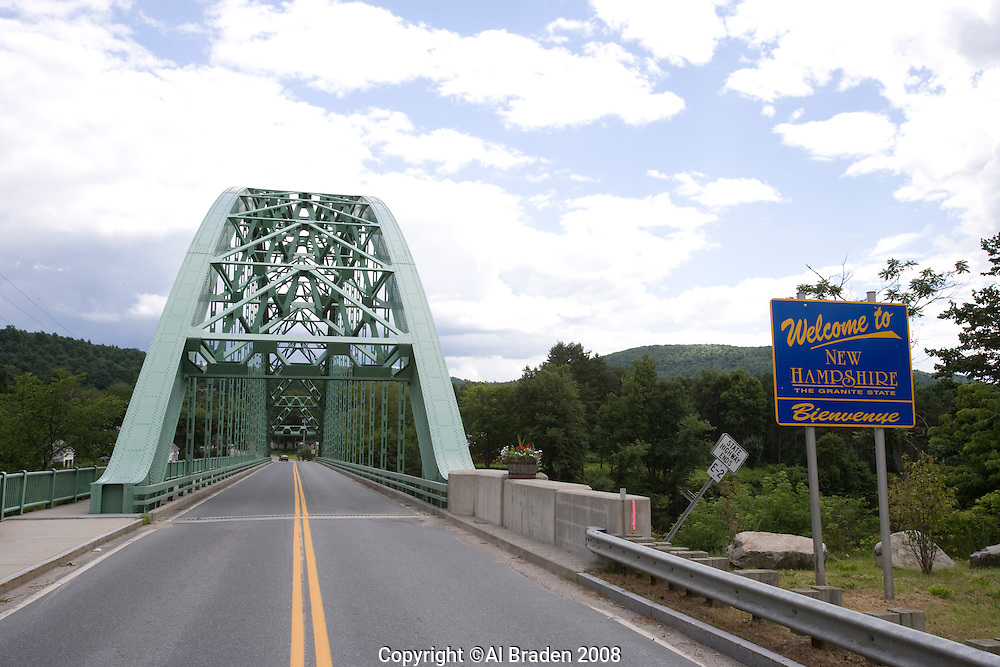 Samuel Morley Bridge, Fairlee, VT to Orford, NH