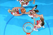 DESCRIZIONE : Riga Latvia Lettonia Eurobasket Women 2009 Semifinal Spagna Russia Spain Russia<br /> GIOCATORE : Maria Stepanova Lucia Pascua Alba Torrens<br /> SQUADRA : Russia Spagna Spain<br /> EVENTO : Eurobasket Women 2009 Campionati Europei Donne 2009 <br /> GARA : Spagna Russia Spain Russia<br /> DATA : 19/06/2009 <br /> CATEGORIA : rimbalzo special super<br /> SPORT : Pallacanestro <br /> AUTORE : Agenzia Ciamillo-Castoria/E.Castoria<br /> Galleria : Eurobasket Women 2009 <br /> Fotonotizia : Riga Latvia Lettonia Eurobasket Women 2009 Semifinal Spagna Russia Spain Russia<br /> Predefinita :