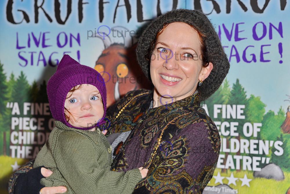 Katherine Parkinson, The Gruffalo - VIP Performance, The Lyric Theatre, London UK, 23 November 2013, Photo by See Li