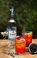Mixed Drink - Strawberry and blackberry - TOPO vodka