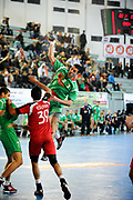 DESCRIZIONE : France Hand Coupe Afrique des Nations Homme Maroc Rabat<br /> GIOCATORE : Labane Tahar<br /> SQUADRA : Algerie<br /> EVENTO : FRANCE Hand CAN<br /> GARA : Algerie Egypte<br /> DATA :19/01/2012<br /> CATEGORIA : Hand CAN<br /> SPORT : Handball<br /> AUTORE : JF Molliere <br /> Galleria : France Hand 2011-2012 Action<br /> Fotonotizia : CAN Hand RABAT Maroc<br /> Predefinita :