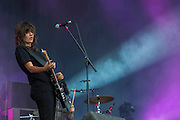 Courtney Barnett plays the Obelisk Stage - The 2016 Latitude Festival, Henham Park, Suffolk.