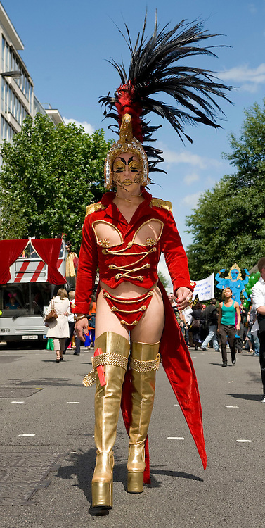 LONDON ENGLAND  July 5th London Pride  where more than half a million revellers are expected at this year's gay and lesbian  parade i
