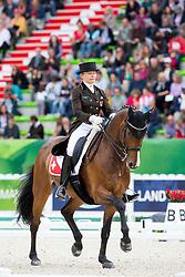 Marcela Krinke Susmelj, (SUI), Smeyers Molberg - Grand Prix Special Dressage - Alltech FEI World Equestrian Games™ 2014 - Normandy, France.<br /> © Hippo Foto Team - Leanjo de Koster<br /> 25/06/14