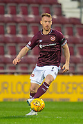 Oliver Bozanic (#7) of Heart of Midlothian during the 4th round of the William Hill Scottish Cup match between Heart of Midlothian and Livingston at Tynecastle Stadium, Edinburgh, Scotland on 20 January 2019.