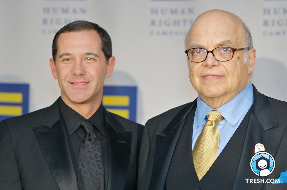Joe Solmonese and Mike Berman before the Tenth Annual HRC National Dinner