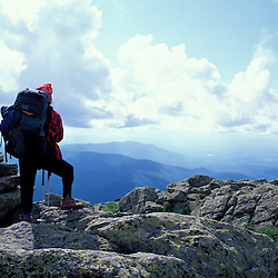 Backpacking.  On the Gulfside Trail - part of the Appalachian Trail.  On Mt. Clay in the Presidential Range.  White Mountain N.F., NH