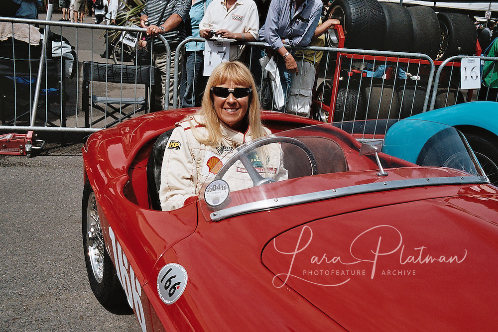 Sally Mason Styron at Goodwood Festival of Speed