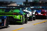 March 16-18, 2017: Mobil 1 12 Hours of Sebring. 11 GRT Grasser Racing Team, Lamborghini Huracan GT3, Richard Antinucci, Mirko Bortolotti, Christian Engelhart, Rolf Ineichen