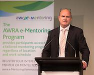Steve Knott (CEO AMMA). Australian Women's Resource Alliance Conference. Crown Conference Center, Melbourne, Victoria, Australia. 14/05/2013. Photo By Lucas Wroe