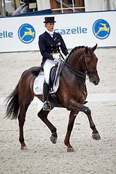 Witte Vrees Madeleine (NED) - Blom's Vontango B<br /> NK De Steeg - Outdoor Gelderland 2010<br /> @Dirk Caremans
