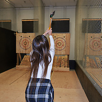 Sacha 30th Axe throwing