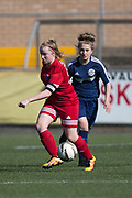 Forfar Farmington under 23s (red) v Tayside Ladies (dark blue) - Scottish Womens' Football League division 1 at Station Park, Forfar<br /> <br />  - &copy; David Young - www.davidyoungphoto.co.uk - email: davidyoungphoto@gmail.com