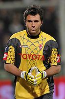 """Sebastien Frey (Fiorentina)<br /> Firenze 1/5/2008 Stadio """"Artemio Franchi"""" <br /> Uefa Cup 2007/2008 Semifinals - Semifinale second Leg<br /> Fiorentina Rangers Glasgow (0-0) (2-4 a.p.)<br /> Foto Andrea Staccioli Insidefoto"""