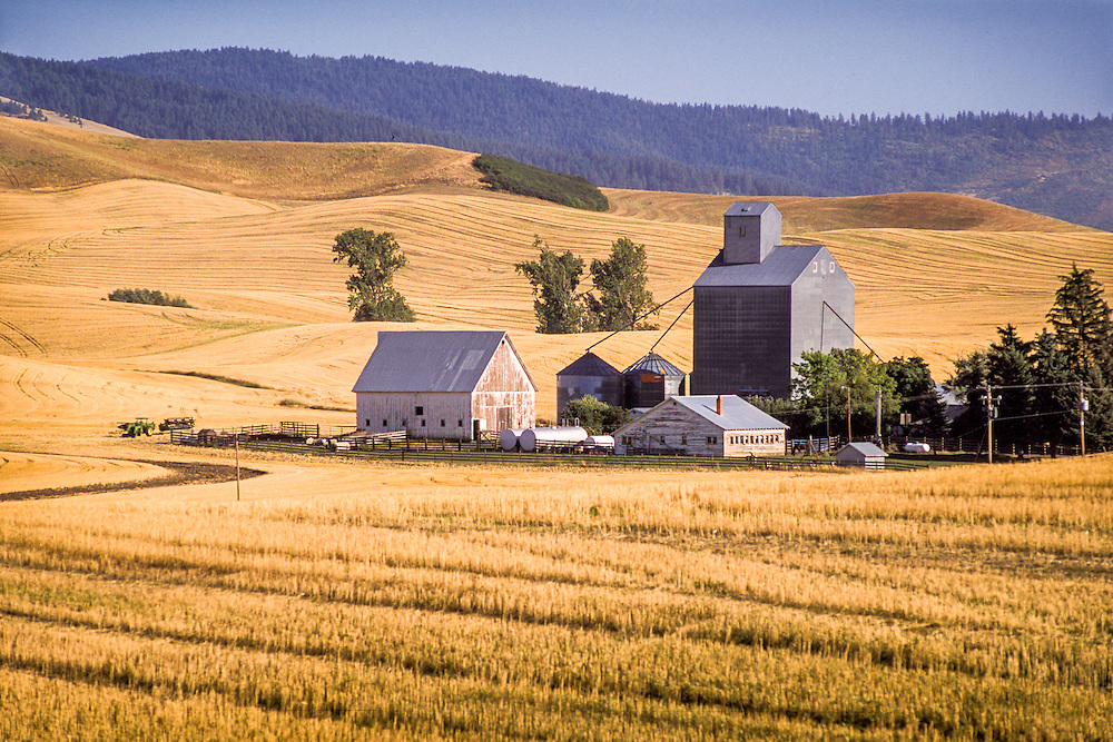 Washington, USA - Grain elevator