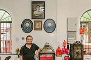 Jack Lee, owner of the Yut Kee Kafe, a traditional Malaysian 'kopitiam'.