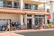 Bear Coast Coffee Shop Downtown San Clemente in the Pier Bowl