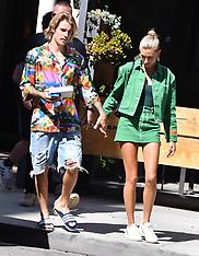 Justin Bieber & Hailey Baldwin - 31 Aug 2018