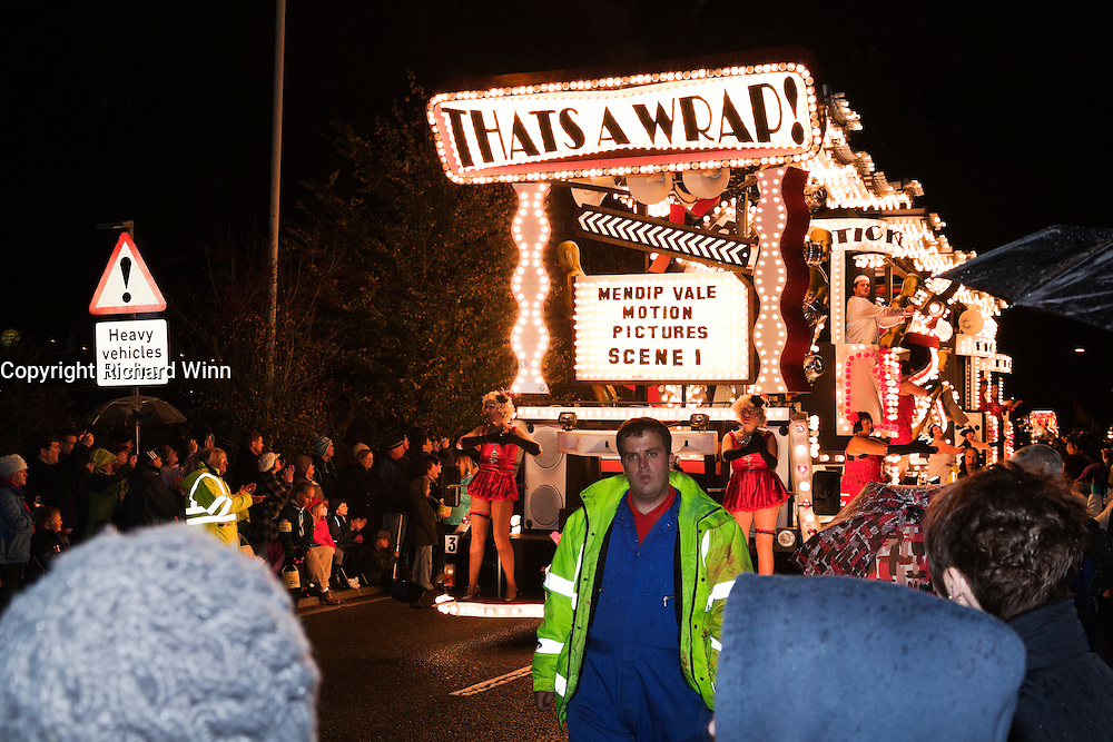 That's a Wrap by Mendip Vale CC at North Petherton Guy Fawkes Carnival 2010.