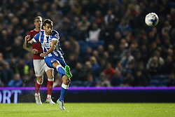 Brighton's Sam Baldock shot hits its target but is caught off side - Mandatory byline: Jason Brown/JMP - 07966 386802 - 20/10/2015 - FOOTBALL - American Express Community Stadium - Brighton,  England - Brighton & Hove Albion v Bristol City - Championship