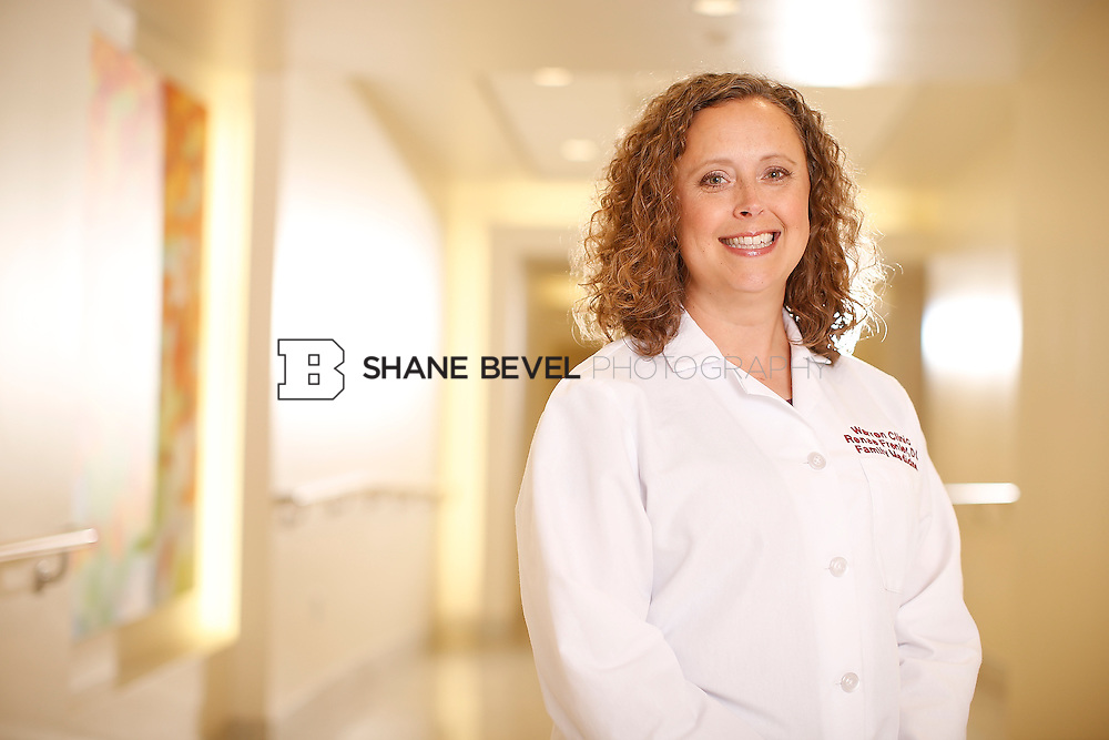 5/28/15 4:11:45 PM -- Dr. Renee Frenier of Saint Francis Health System poses for a portrait for the 2015 Advertising Campaign. <br /> <br /> Photo by Shane Bevel