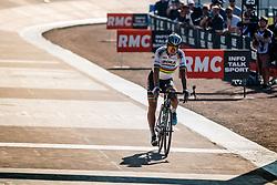 Finish of SAGAN Peter during the 115th Paris-Roubaix (1.UWT) from Compiègne to Roubaix (257 km) at velodrome Roubaix, France, 9 April 2017. Photo by Pim Nijland / PelotonPhotos.com | All photos usage must carry mandatory copyright credit (Peloton Photos | Pim Nijland)