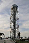 Alphabetic Tower a 130-meter-high structure in Batumi, Georgia.